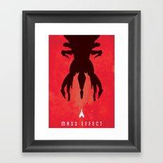 Mass Effect Print Framed Art Print