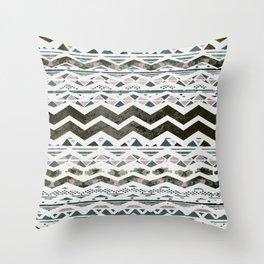 TRIBAL CHEVRON Throw Pillow