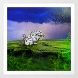 I Believe In Gruff Art Print