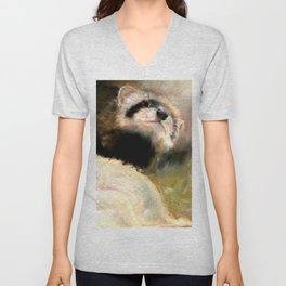 Ferret Mommy Unisex V-Neck