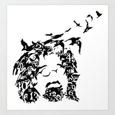 Counting Crows Art Print