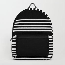 Horizontal stripes Backpack