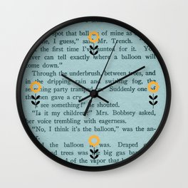 Bloom - by Diane Duda Wall Clock