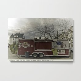 Providence Postcard Project: Johnny's Chimi's Place Truck, Lower South Metal Print