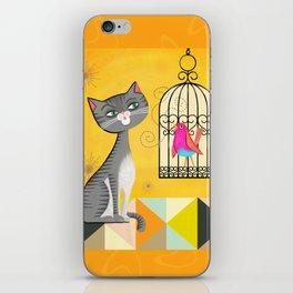 Cat Bird Seat iPhone Skin