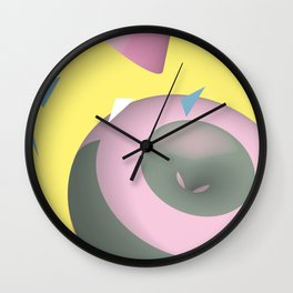 Geometric Calendar - Day 31 Wall Clock