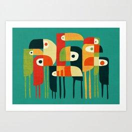 Toucan Kunstdrucke