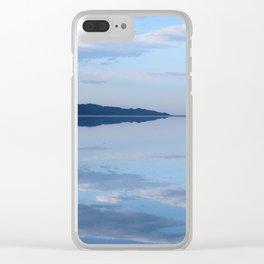 Salt Flat Sky Clear iPhone Case