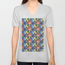 Cubism 1 Unisex V-Neck