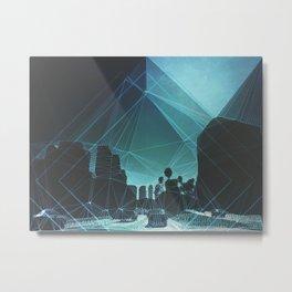 tron. Metal Print
