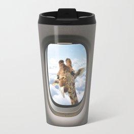 Funny Giraffe  Travel Mug