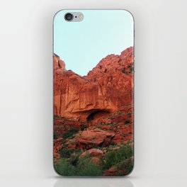 Red rocks iPhone Skin