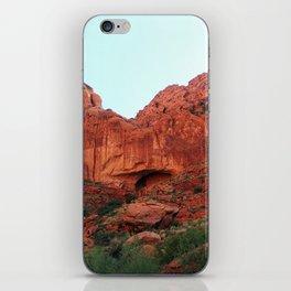 Red rocks iPhone Skin