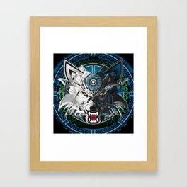 Timberwolves Framed Art Print