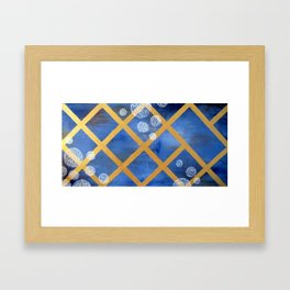 first comes winter Framed Art Print