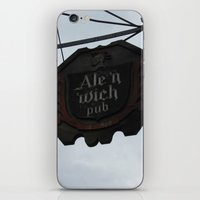ale giorgini iPhone & iPod Skins featuring Ale 'n 'Wich by Caitlin