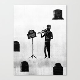 How the Obits...  by Daniel Greenfeld for Nautilus Canvas Print