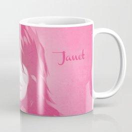 Janet Jackson - Pop Art Coffee Mug