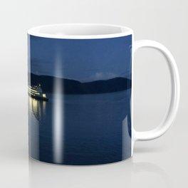 Ferry at dusk Coffee Mug
