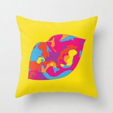 Besos Throw Pillow