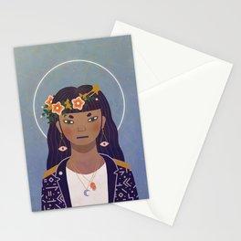 Celestial Portrait Stationery Cards