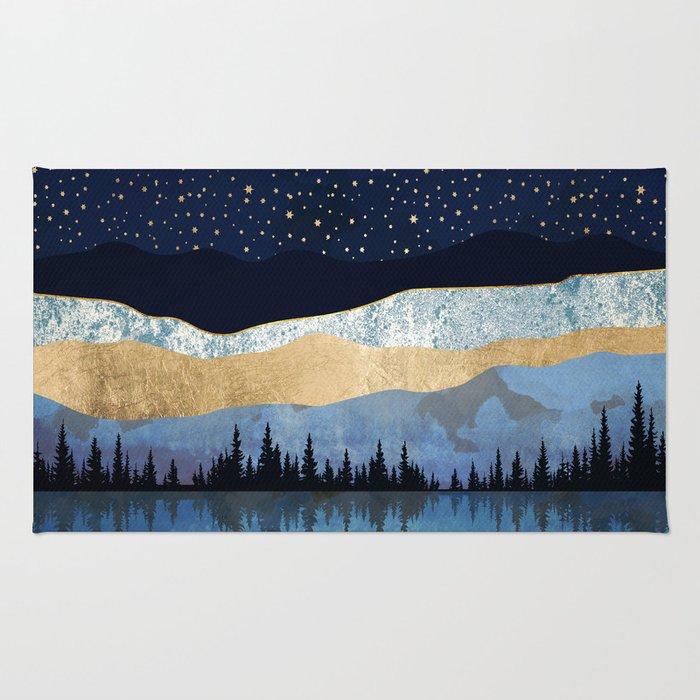 Midnight Lake Rug