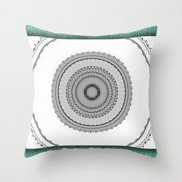Green West Throw Pillow