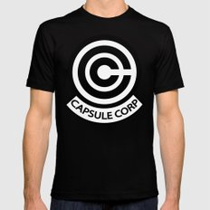 Capsule Corp. Mens Fitted Tee Black X-LARGE