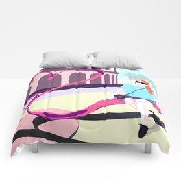 Romantic trip Comforters