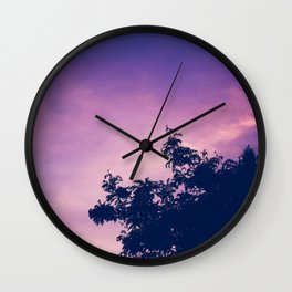 Mystical space Wall Clock