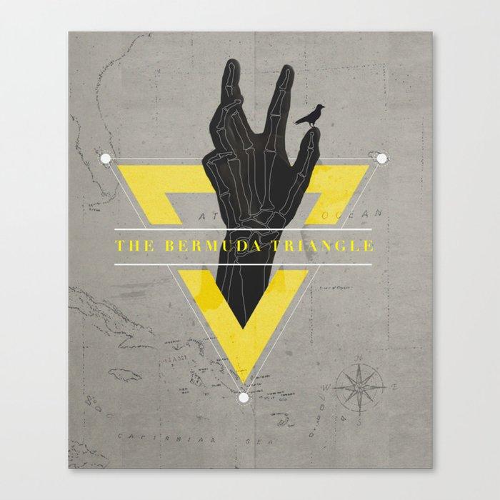 The Bermuda Triangle Canvas Print