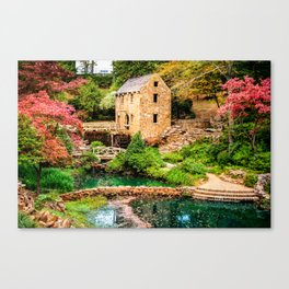Afternoon at The Old Mill - North Little Rock Arkansas Canvas Print