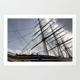 The Cutty Sark  Art Print