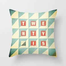 Twenty 15 Throw Pillow