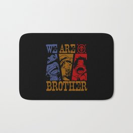 We Are Brother Bath Mat