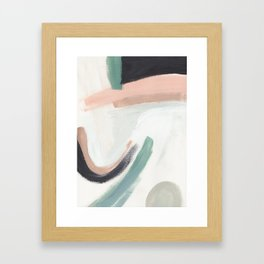 Just Peachy Framed Art Print