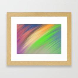 blurr Framed Art Print