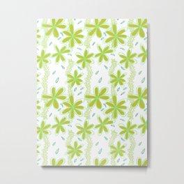 Flowers for Amelie Pattern  Metal Print