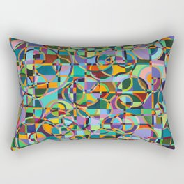 Emergence Refraction Rectangular Pillow
