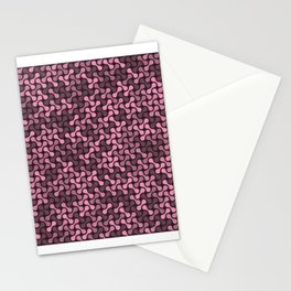 Metaballs Pattern (Rose Gold) Stationery Cards