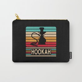 Hookah Vintage Retro Water Pipe Shisha Vape Carry-All Pouch
