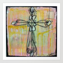 cross. Art Print