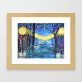Colours of the Rain Framed Art Print