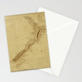 New Zealand 1770 Stationery Cards