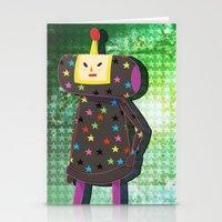 katamari Stationery Cards featuring Katamari Cousins - Dipp by cakeisforrobots