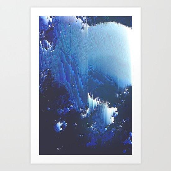 Methylene Art Print