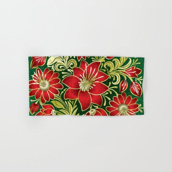 Shabby flowers #4 Hand & Bath Towel