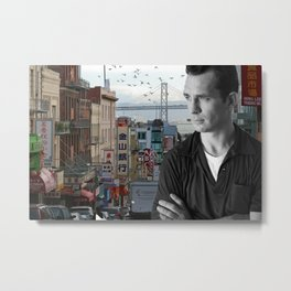 Jack Kerouac San Francisco Metal Print