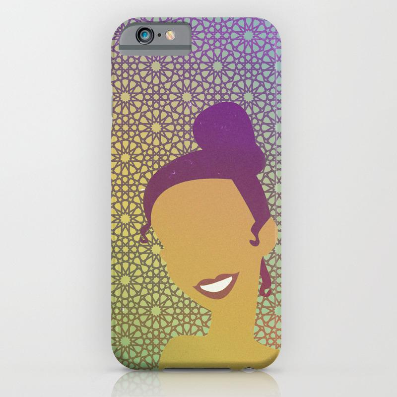 check out 8632b fe214 Moroccan Princess Tiana iPhone Case
