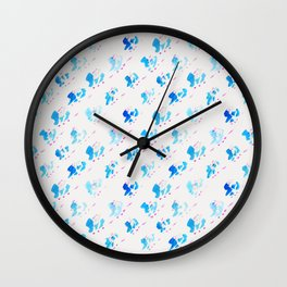 Day 001: Margot's Daily Pattern Wall Clock